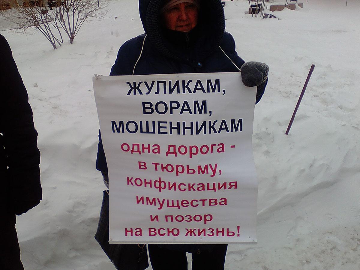 "Мороз сорвал протест. Акция левых сил против ""казнокрадства"" прошла в Новосибирске"