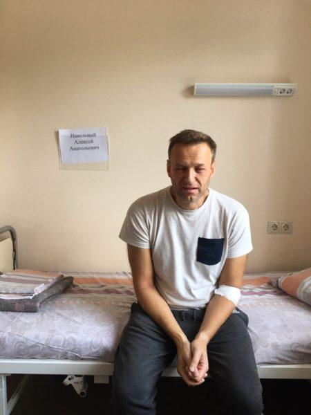 Подозрения вотравлении арестованного— уже повод для проверки. Члены московской ОНК огоспитализации Навального