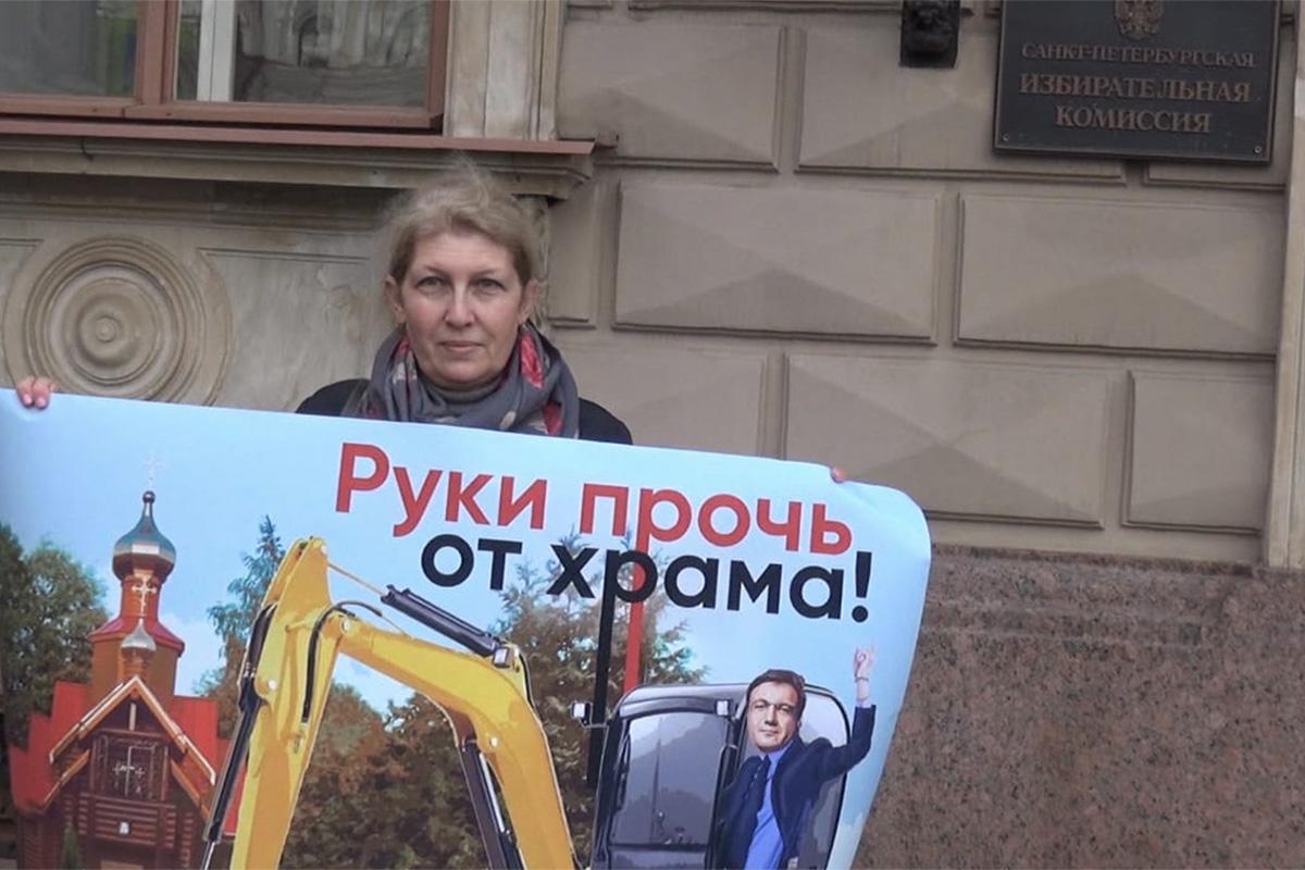«Мы считаем, что храм – это изюминка»: как во дворе жилого комплекса в Петербурге оказалась церковь и кому она мешает