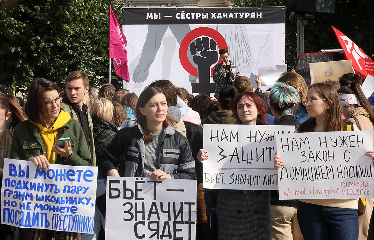 Адвокат Мари Давтян: «Генпрокуратура несогласна сквалификацией преступления поделу сестер Хачатурян»